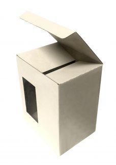 Verpackung für Krug, Maße 142x110x182, weiß, einwellig