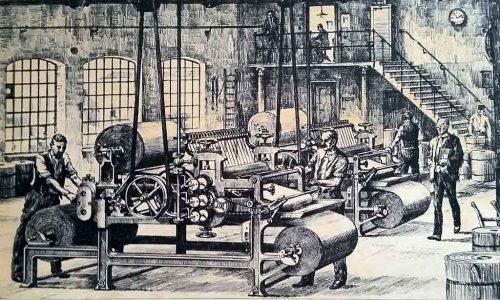 Fabrik von Pappkartons