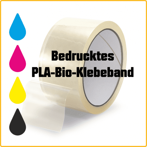 Bio PLA Klebeband druck