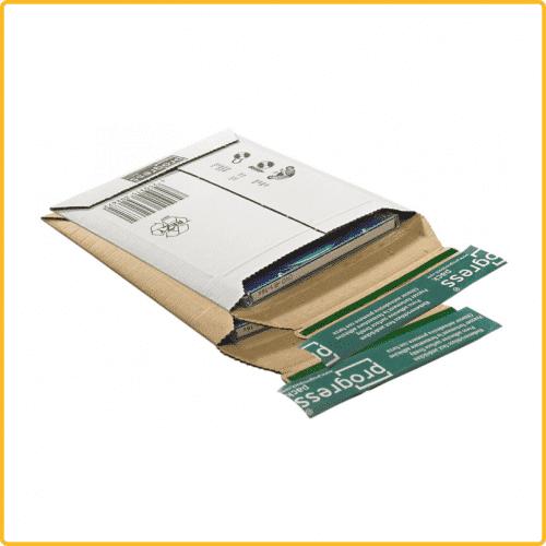 145x190x25 Disk Pack CD Mailer Versandtasche mit selbstklebeverschluss aufreissfaden
