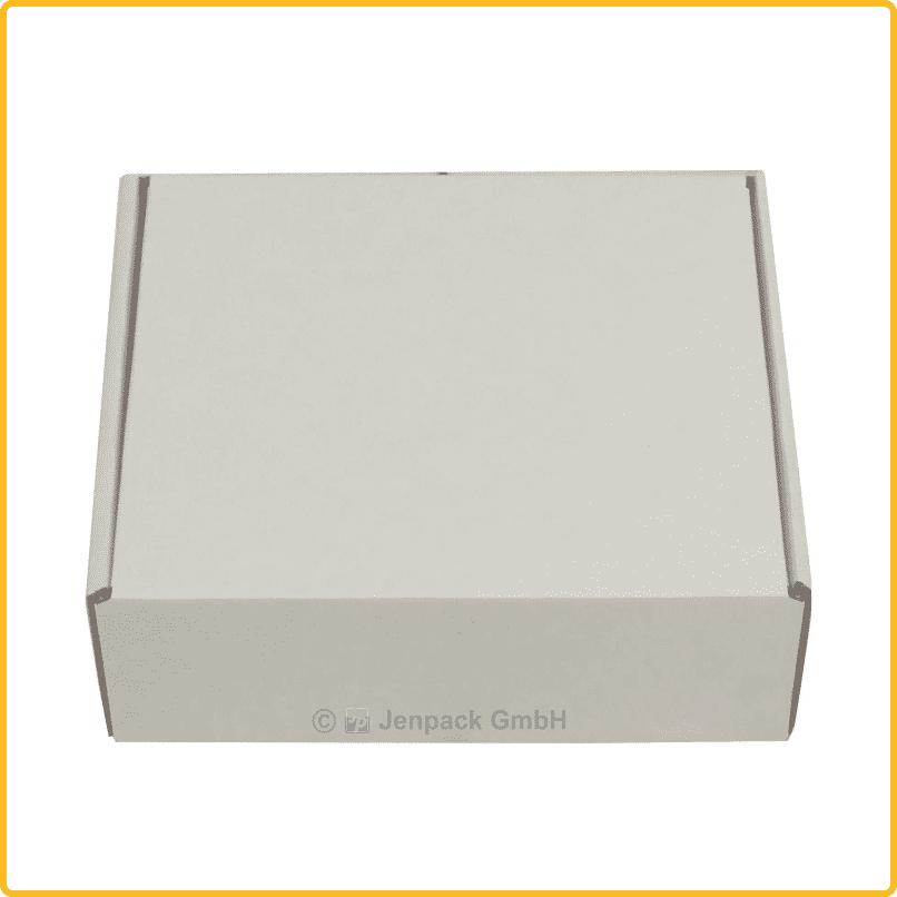 150x130x55 Klappdeckelschachtel weiß rueckseite