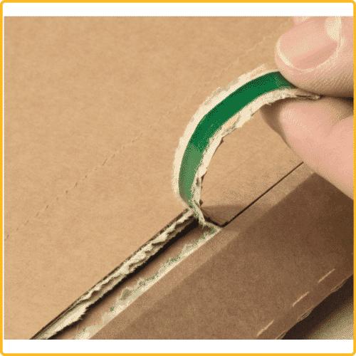 187x272x50 Versandtasche premium aus wellpappe aufreissfaden