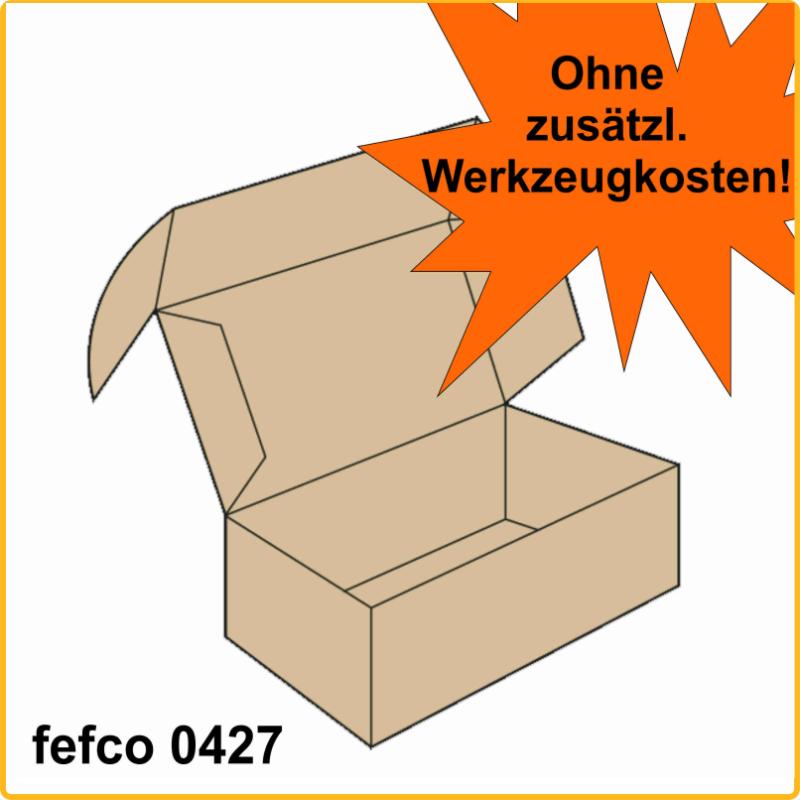 200x180x70 Klappdeckelschachtel fefco 0427