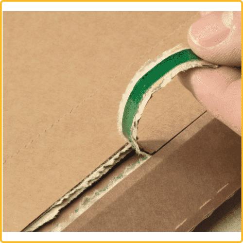 210x292x50 Versandtasche premium aus wellpappe aufreissfaden