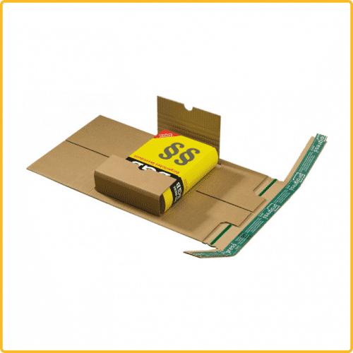 230x162x80 Universal versand verpackung aus wellpappe braun