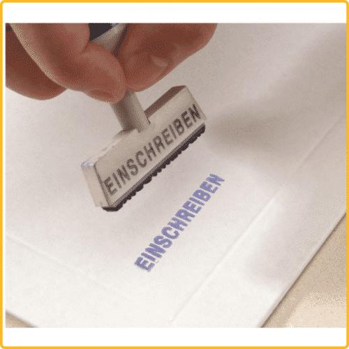 235x308x30 Versandtasche premium weiss stempelfest