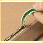 235x337x35 Versandtasche premium aus wellpappe aufreissfaden