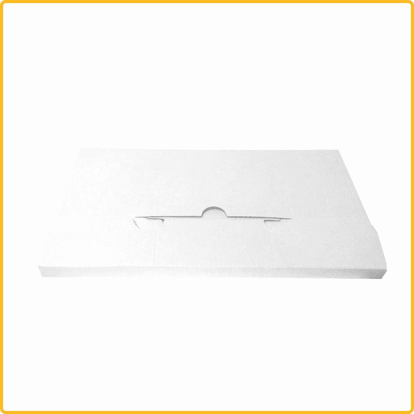 251x125x10 Kreuzverpackung weiß geschlossene ansicht