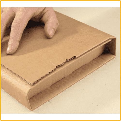 300x220x80 Universal versand verpackung premium zum wickeln braun