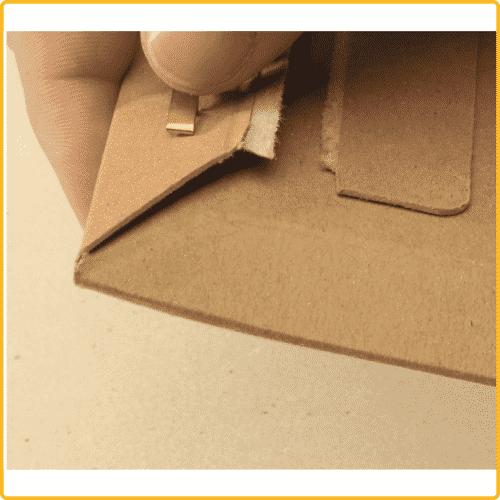 309x447x30 Versandtasche premium clip verschluss