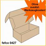 340x90x80 Klappdeckelschachtel fefco 0427