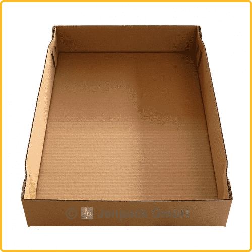 396x264x60 tray ablageschale braun ansicht2