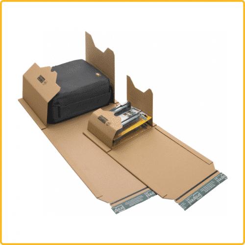 455x325x80 Universal versand verpackung eco braun