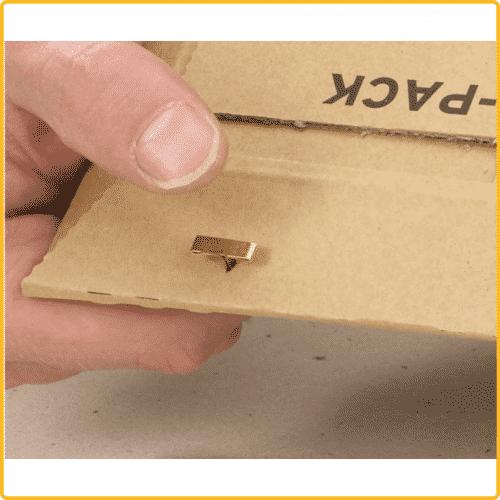 530x740x55 Versandtasche premium clip verschluss