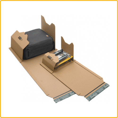 620x420x80 Universal versand verpackung eco braun