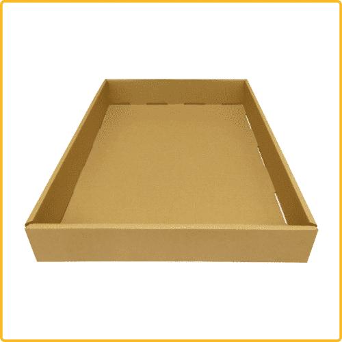 710x520x100 tray ablageschale braun ansicht2