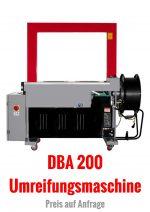 Umreifungsmaschine, Modell DBA 200