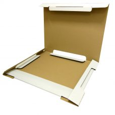 Kalenderverpackung groß, weiß, geöffnet