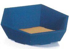 Geschenkkorb in der Farbe Saphir