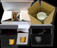 Verpackung für Tassen