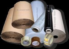 Verpackungsmaterial - Wickeln, Stopfen, Polstern, Sichern