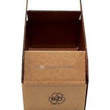 Karton, Faltschachtel 440x185x75 mm, braun