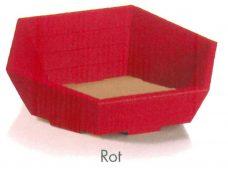 Geschenkkorb, Präsentkorb, Farbe, rot