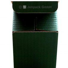 Tassenverpackung grün, Vorderansicht