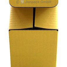 Tassenverpackung gelb, Vorderansicht