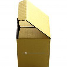 Tassenverpackung gelb, Seitenansicht