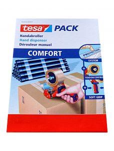 Tesa Handabroller, Bild der Verpackung