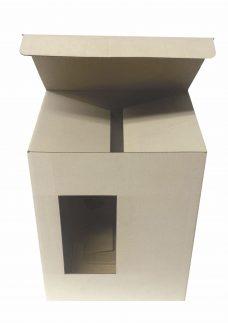 Verpackung für Krug, Maße 142x110x182, weiß, einwellig, Vorderansitz